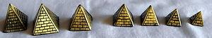 Brass Pyramids