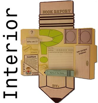 Bringing Book Reports to Life   Scholastic Pinterest Cereal Box Book Report