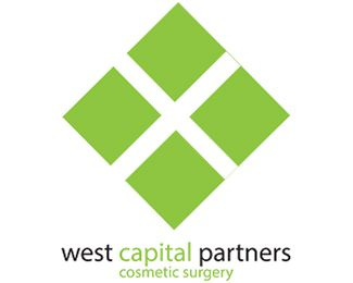 cosmetic surgery Logo design - logo West capital partners is storry about cosmetic surgery green color take as sugestion about cosmetic products. If we take this products we will been yunger. Price $0.00