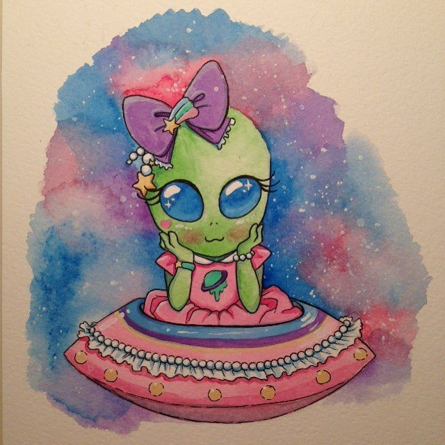 What a cute alien drawing hehheehttp://spotpopfashion.com/b9h7