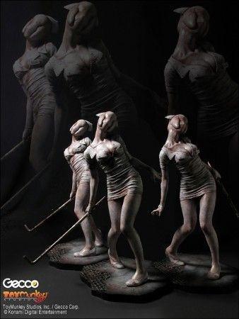 Silent Hill 2 Statuen 3er-Pack 1:6 Bubble Head Nurse 28 cm