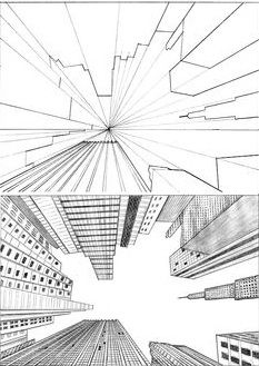 Draw a city view