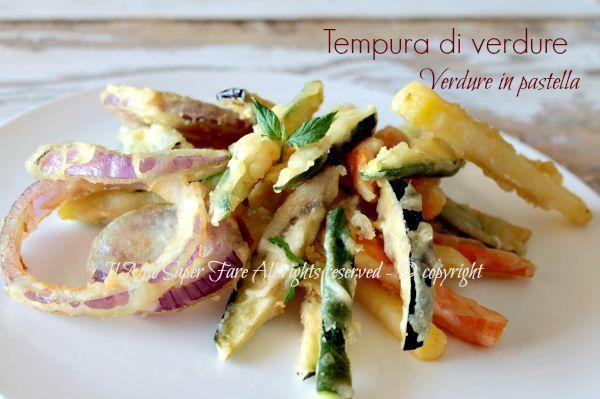Tempura verdure croccante   Verdure in pastella senza uova. Con farina di riso e senza glutine. Piccoli segreti per una tempura croccante, leggera e gustosa