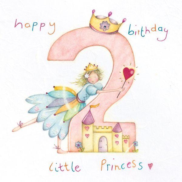 Girl/'s Birthday Cards Children/'s Birthday Cards Princess Birthday Cards Daughte Birthday Cards Princess Birthday Cards