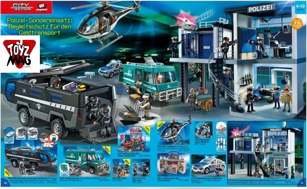 catalogue allemand playmobil police