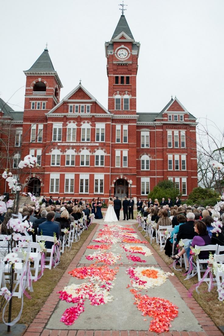 Samford Corridor Wedding ceremony, Auburn College – A lady can dream proper?      How do I …