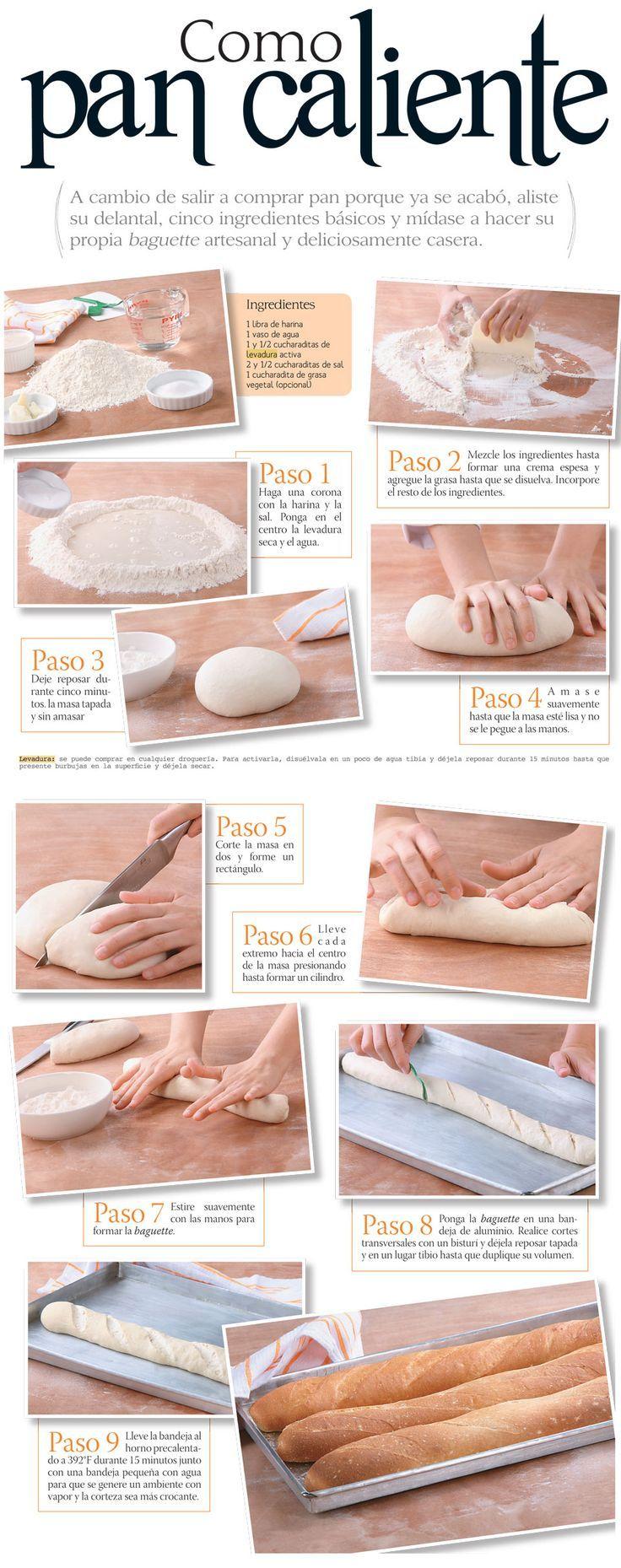 :) Cómo preparar pan en casa. | Más en https://lomejordelaweb.es/