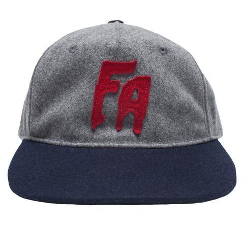 FA Logo Wool Grey/Red/Navy