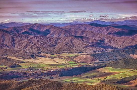 Bright, #Australia: View from Mt Buffalo http://www.tripadvisor.com.au/ShowForum-g255098-i277-Victoria.html