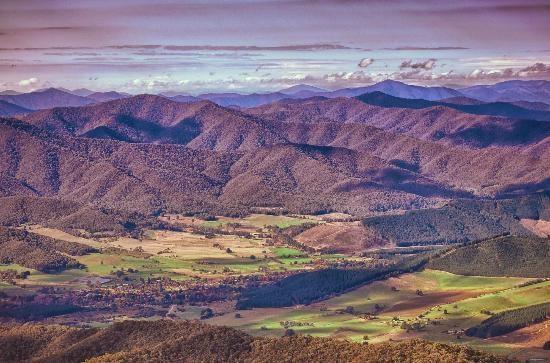 Bright, #Australia: View from Mt Buffalo http://www.tripadvisor.com.au/ShowForum-g255098-i277-Victoria.html