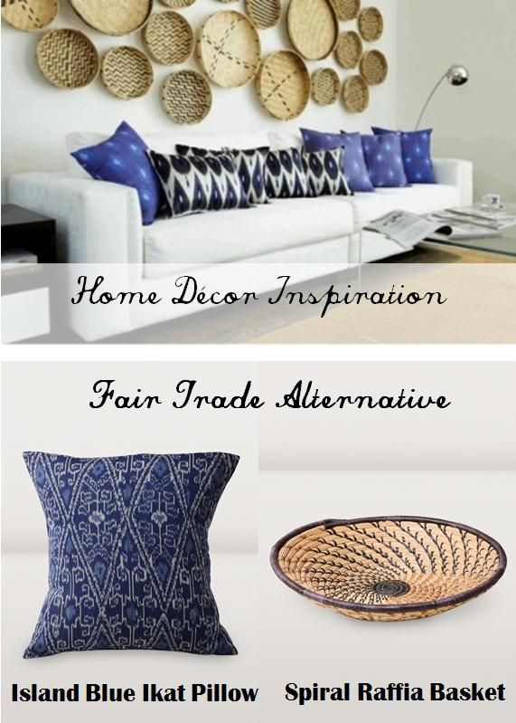 fair trade home decor. Fair Trade Home Decor Inspiration with the beautiful pattern of Island  Blue Ikat Pillow and 89 best images on Pinterest trade