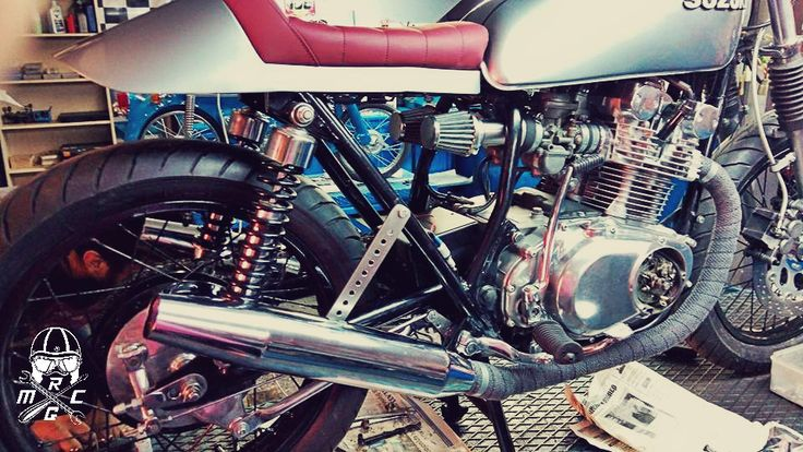 #Suzuki #GS400 '77 By Nikos Dagiopoulos #Restoration and #customizing #motorcycle  #CafeRacer