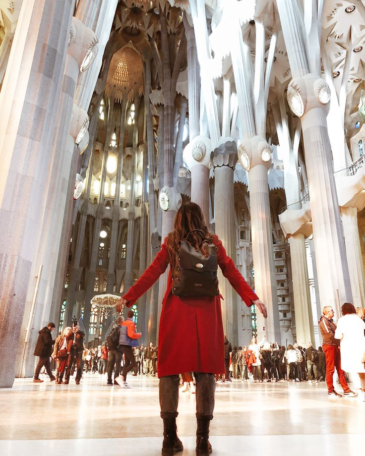 Garkony backpack// Sagrada Familia Barcelona