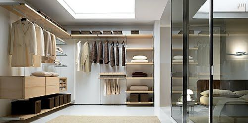 Vestidores funcionales buscar con google muebles for Closets funcionales modernos