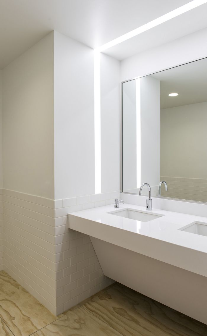 25 best commercial bathroom ideas on pinterest office for Office bathroom ideas