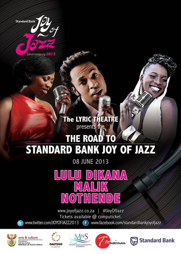 Catch Nothende, Malik and Lulu Dikana at the next Road To Joy of Jazz, June 8th, 2013