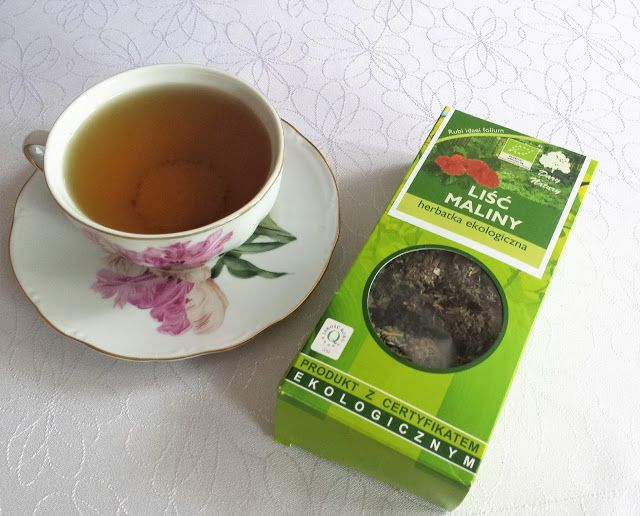 herbata z liści malin na sprawniejszy poród