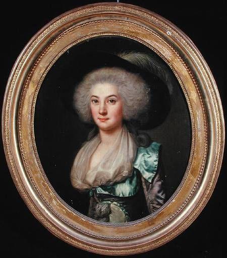 Claire Gabrielle Pinel de La Palun, Vicomtesse de Vergennes, 1767-1800.