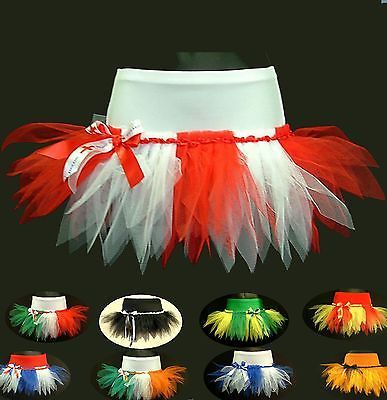 Cheerleading tutu mini skirt football #rugby #fancy dress pageant flag #party,  View more on the LINK: http://www.zeppy.io/product/gb/2/360341535308/