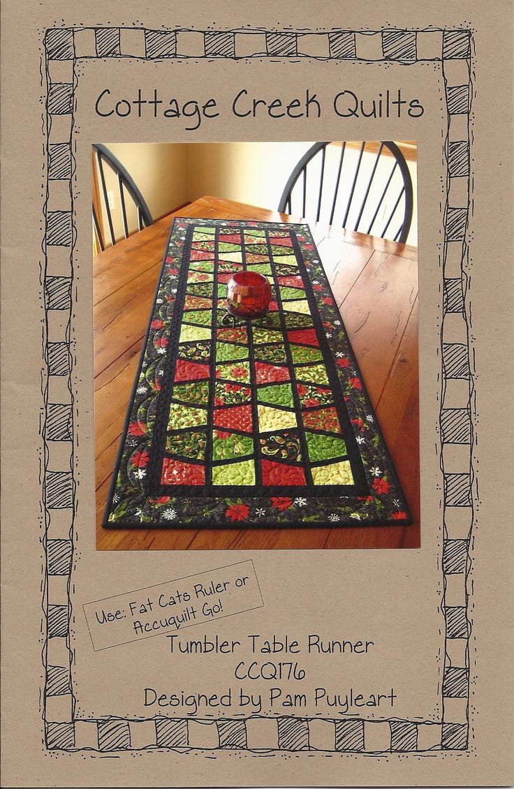 Quilted+Table+Runner+Patterns+Squares | Free Quilt Patterns & Free Fat Quarter Quilting Patterns – Fat