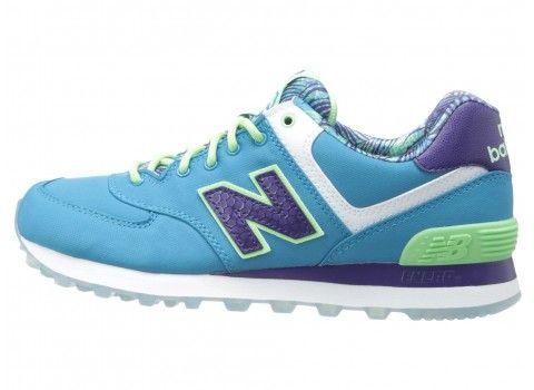 New Balance Classics WL574-Island Pack Women's Shoes Blue
