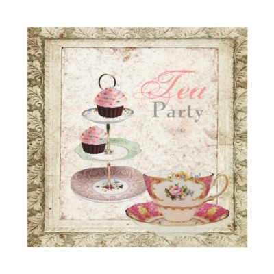 84 best Possible Tea Party Invitations images on Pinterest Tea - tea party invitation