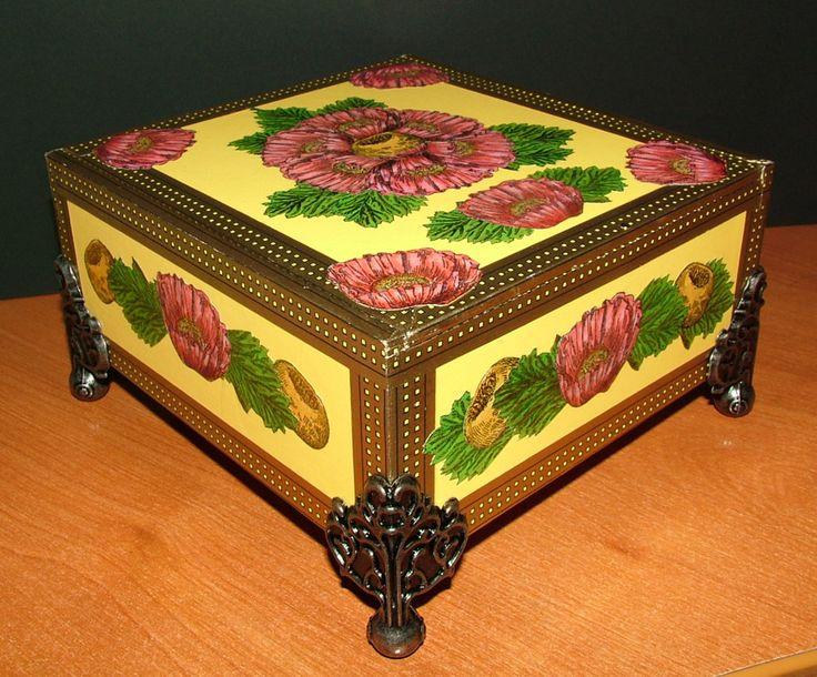 181 Best Cigar Box Crafts Images On Pinterest Cigar Box