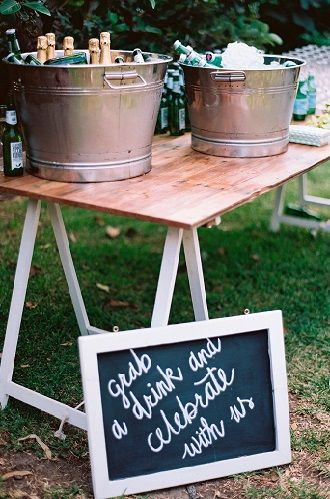 Refreshment Bars | Lovebird Weddings