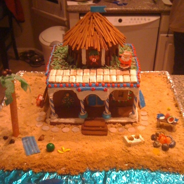 Beach Themed Gingerbread House: 16 Best Gingerbread House Ideas Images On Pinterest