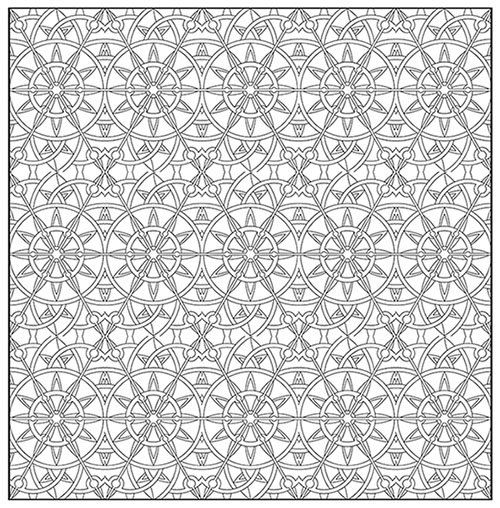 8 Best Images About Adult Colouring Printables On