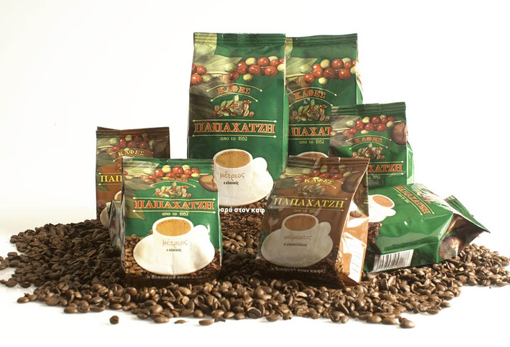Coffee Packaging for Papahatzis Coffee