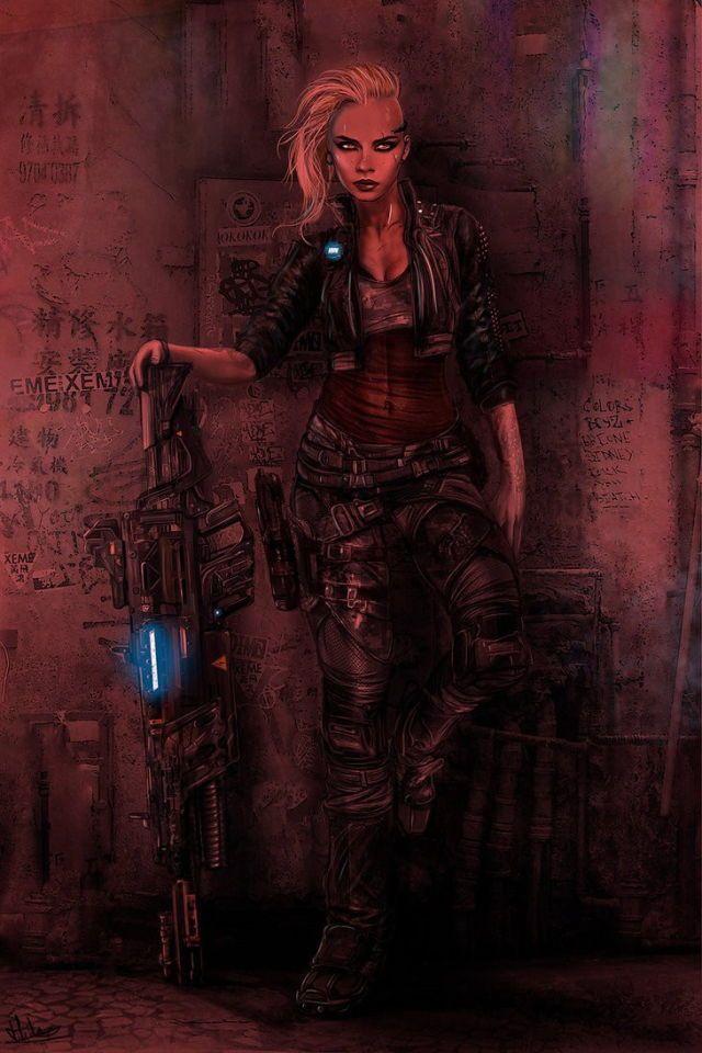 Female Mercenary