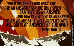 Karl Barth Quotes. QuotesGram via Relatably.com