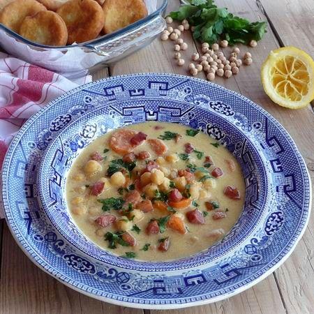 Csicseriborsó leves baconnel Recept képpel - Mindmegette.hu - Receptek