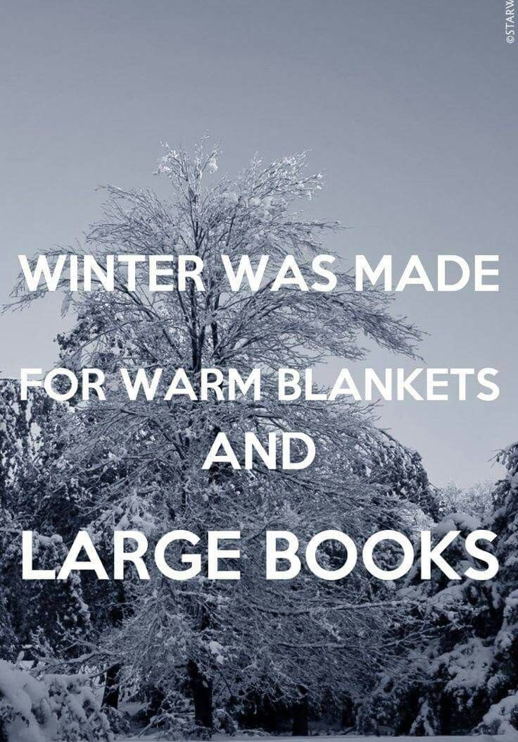 Today is a perfect day to stay wrapped up and read!!!!