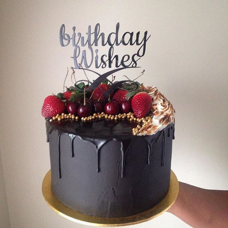 Pinterest Drip Birthday Cake