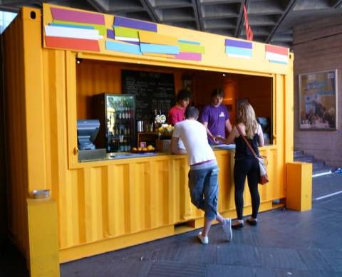 Recycled Shipping Container Buildings Popping-Up All Over London : TreeHugger
