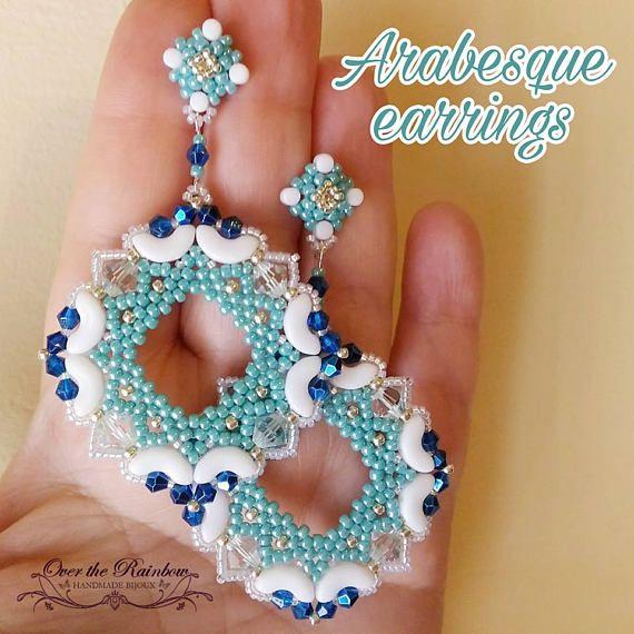 PDF  ARABESQUE earrings
