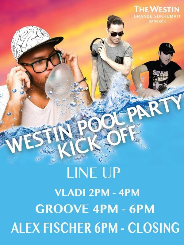Westin Pool Party Kick off - Feb 2016