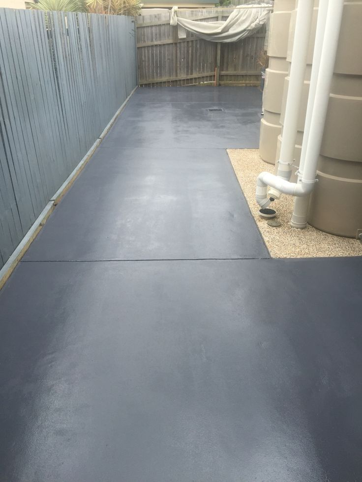 Pressure wash and painting a patio area in Forest Lakes
