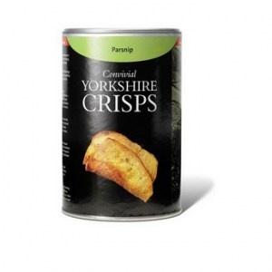 Parsnip flavored crisps. Yummy.
