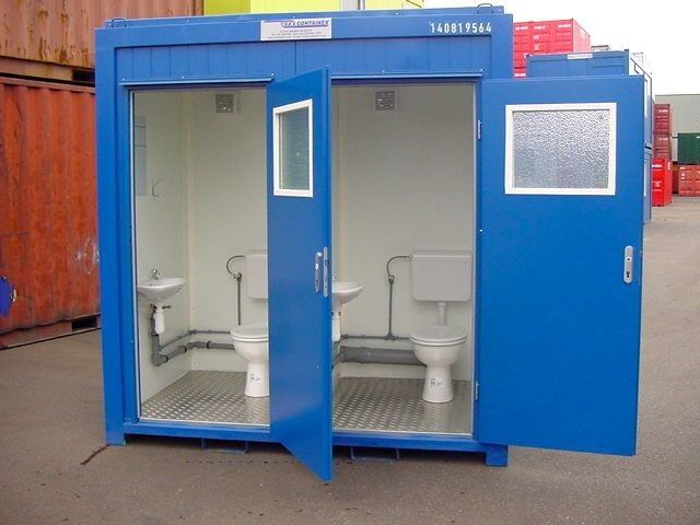 8ft Toilet | CCA Containers - Containers for sale and to rent