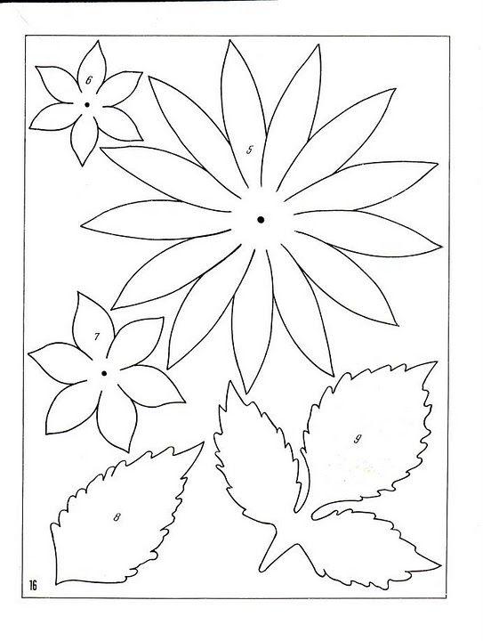 описание изготовления цветов из ткани17