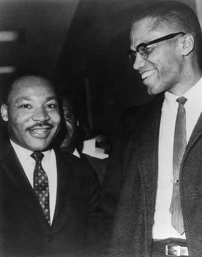malcolm x and martin luther king jr relationship help