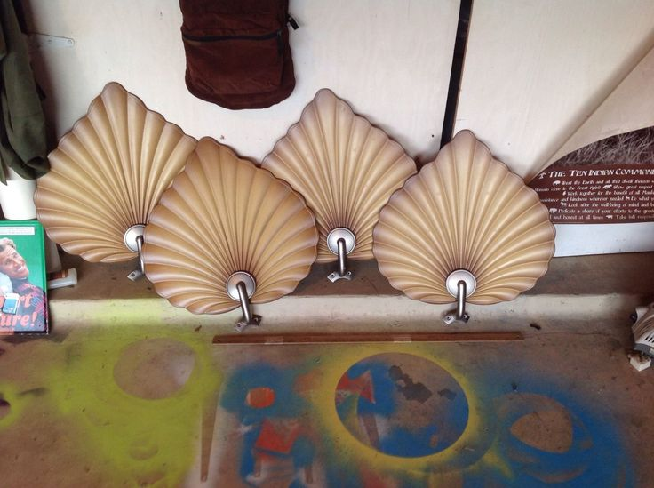 replacement ceiling fan blades and arms set of 4 palm leaf design hunter fan ebay