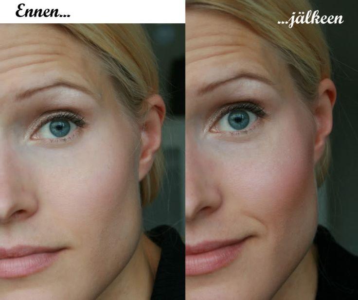 Yksinkertainen kasvojen varjostus