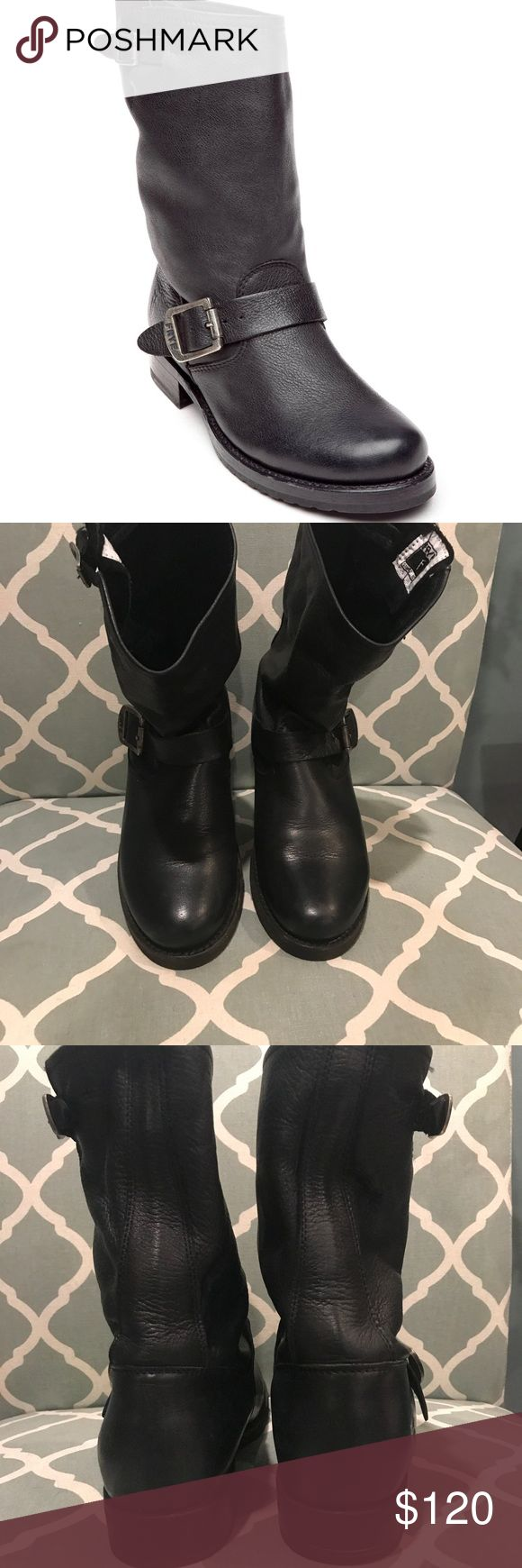 Frye Veronica short Frye Veronica boots. Size 8. Worn a few times great condition Frye Shoes Combat & Moto Boots
