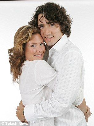 Justin Trudeau, the Canadian Prime Minister and his wife Sophie Grégoire