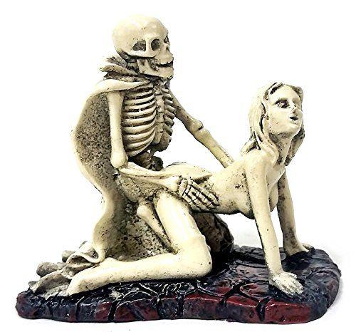Erotic fetish polyresin figurines