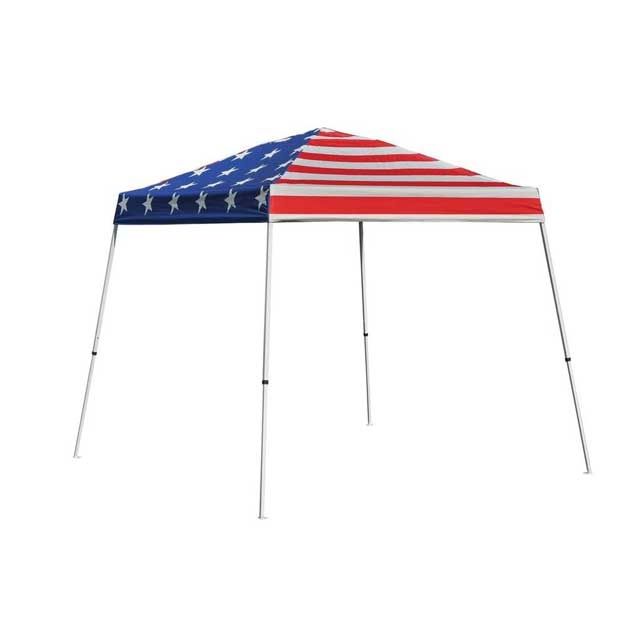 This stars & stripes canopy has July 4th written all over